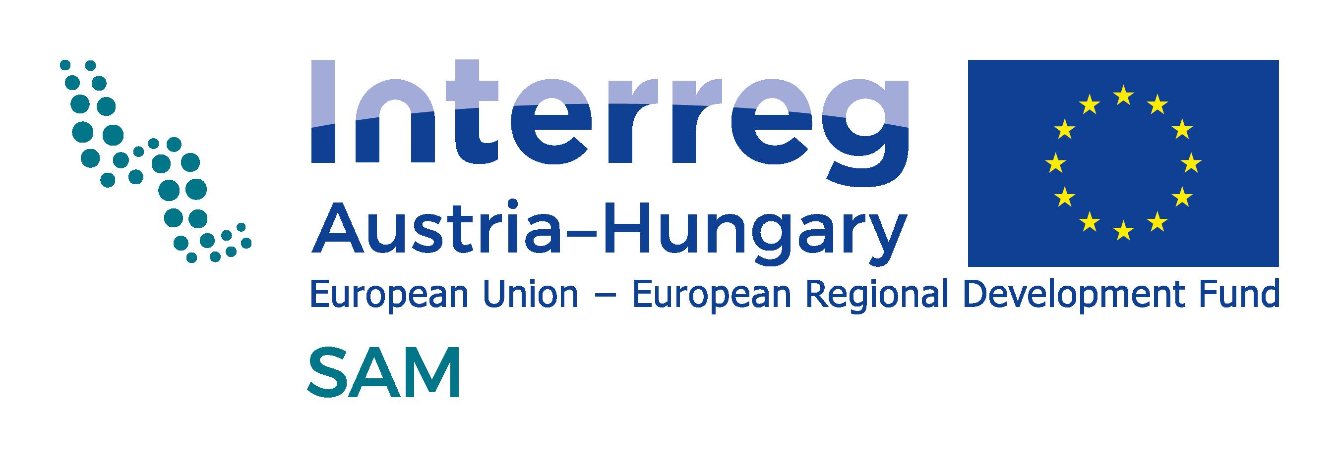 Projectlogo Interreg AT-HU_SAM_rgb